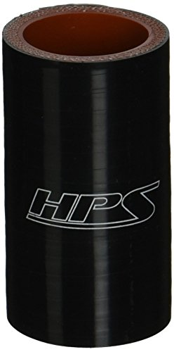12 Length HPS HTST-062-BLK Silicone High Temperature 4-ply Reinforced Tube Coupler Hose Black 100 PSI Maximum Pressure 5//8 ID