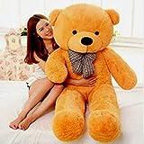 Gurudev Soft Teddy Bear, 4ft/112cm (Brown)