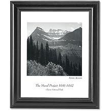 Ansel Adams Glacier Park B/W Photo Wall Picture Framed Art Print