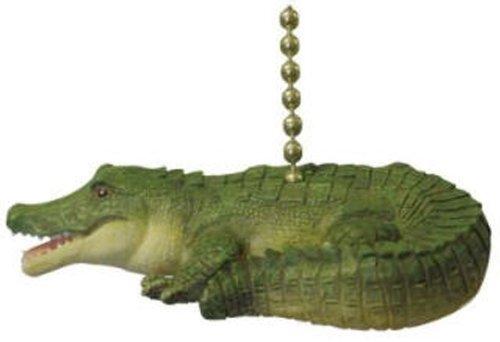 (ALLIGATOR ceiling Fan Pull Florida Gator crocodille by Clementine)