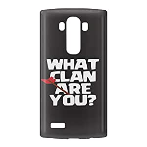 Loud Universe LG G4 Clash of Clans What Clan are You? Print 3D Wrap Around Case - Black