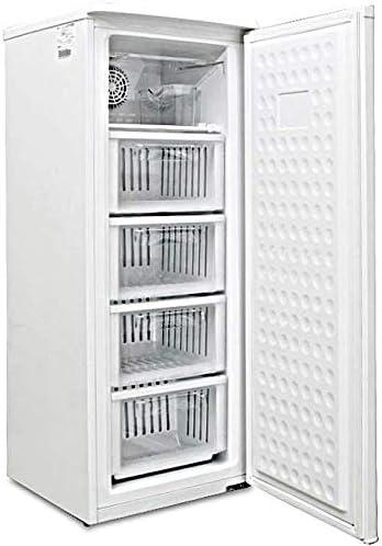 [スポンサー プロダクト]ALLEGiA(アレジア) 冷凍庫 (107L) 前開き 4段引き出し【ファン式・霜取り不要・省エネ】 AR-BD120-NW