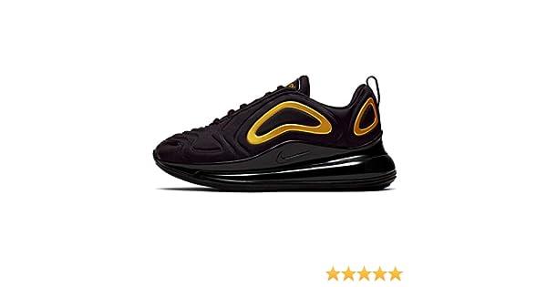 Nike Air Max 720 (gs) Big Kids Aq3196-014, Negro (Negro/Dorado metálico), 37 EU: Amazon.es: Zapatos y complementos