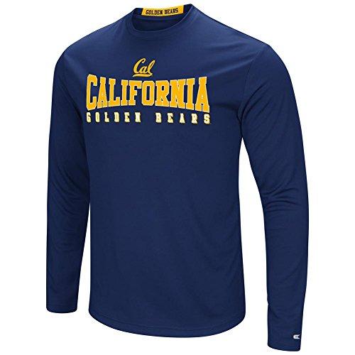 Cal Berkeley Golden Bears T-Shirt Performance Long Sleeve Shirt (Large)