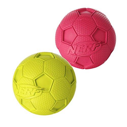 Nerf Dog 2 Pack Soccer Squeak product image