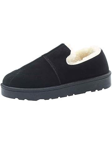 4de6aca96 Zapatos Mujer OtoñO Invierno 2018 ZARLLE Vintage Moda Unisexo Mujer Hombre  Otoño Invierno Zapatillas De Estar