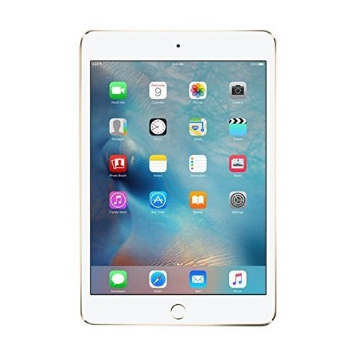 Apple iPad mini 4 (128GB, Wi-Fi, Gold) by Apple