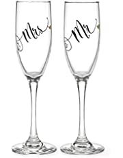 Hortense B. Hewitt Wedding Accessories 25th Anniversary Champagne Toasting Flutes