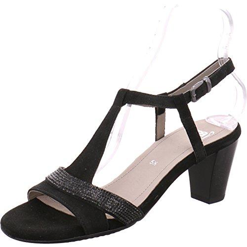 Sandalias mujer ara de vestir 123466101 schwarz para X5XrwAq