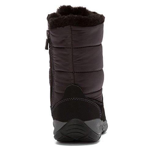 Easy Spirit Womens Erle Winter Boot Black Multi