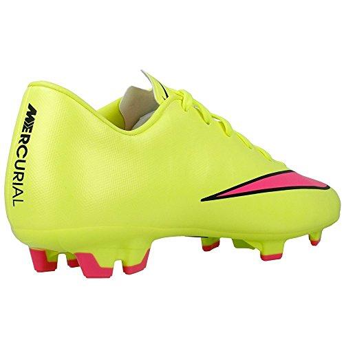 Nike Mercurial Victory V FG - Zapatillas de fútbol para hombre TAXI/TEAM RED/TEAM RED