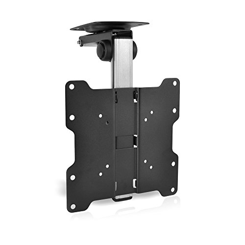 (Pyle PCMTV25 17-Inch to 37-Inch Universal Folding Hide-Away TV Ceiling Mount Bracket Fits)