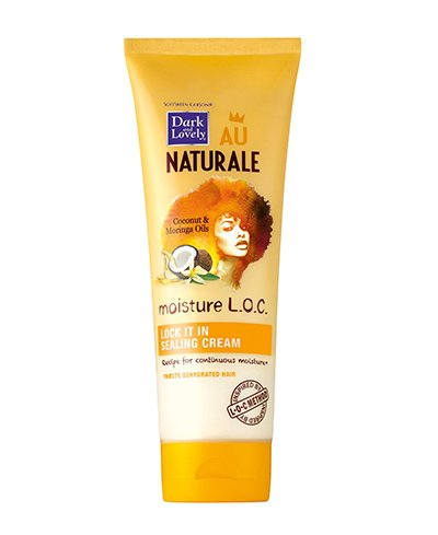 SoftSheen-Carson Dark and Lovely Au Naturale Moisture L.O.C. Lock It In Sealing Cream, 8.5 oz