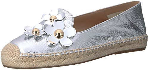 Marc Jacobs Da Donna Espadrillas Balletto Argento Piatto