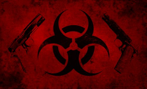 Biohazard Apocalypse Doormat 18