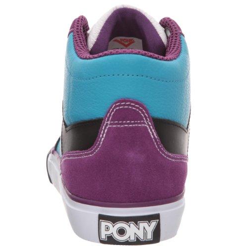 Pony Signature, Scarpe sportive uomo Blu (Bleu / Noir / Violet)