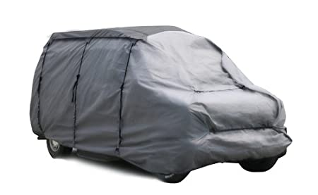 Camco 45781 22-Feet RV Ultra Guard Van Cover, 200-Inch LT x 264-Inch-Pound x 40-Inch HF x 92-Inch HB