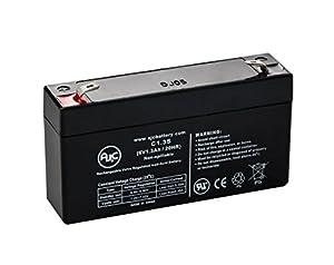Amazon.com: GE Simon XT 6V 1.3Ah Alarm Battery Compatible ...