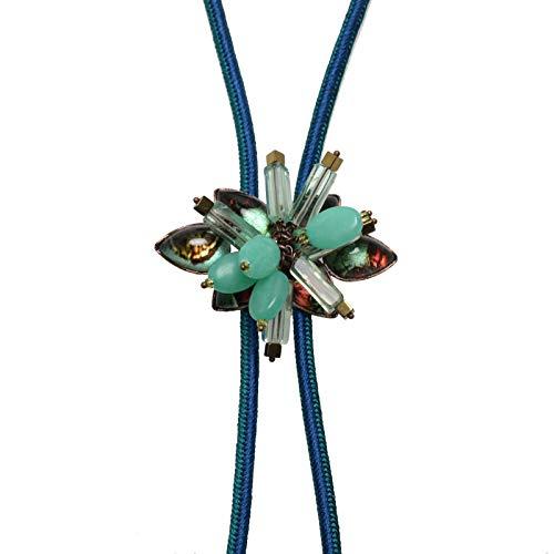 TAMARUSAN Braid Bolo Tie Florite Silk ()
