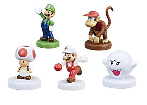 Monopoly Gamer Power Pack Bundle - Luigi, Boo, Fire Mario, Toad, and Diddy Kong