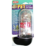 Lixit Aquarium Bowls and Feeders for Hamsters Mice and Other Small Animals. (10oz Dry Food Hopper)