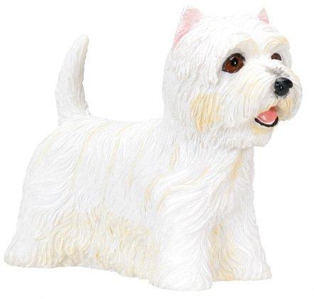West Highland Terrier (Westie) Dog - Collectible Statue Figure Yorkie