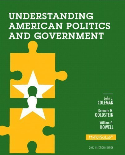 NEW MyPoliSciLab without Pearson eText -- Standalone Access Card -- for Understanding American Politics and Government, 2012 Election Edition (3rd Edition) by John J. Coleman (2012-12-15)
