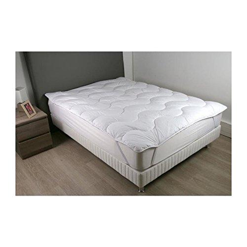 DODO Sur-matelas 180x200 - Polyester fibre haute technologie 470 gr-m² - Moelleux - CONTRY