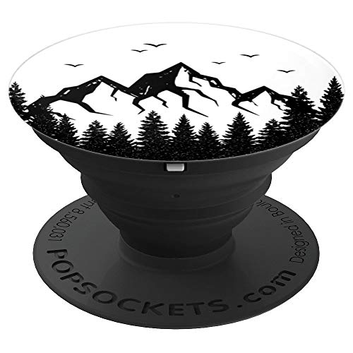 Price comparison product image Colorado Rocky Mountains Wildlife Mountain Outdoor Camping - PopSockets Grip and Stand for Phones and Tablets