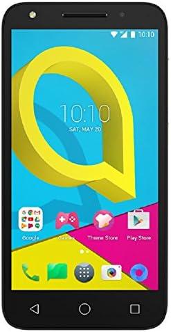 "Alcatel A3 Plus 5011A 5.5"" Quad-core 1.3GHz 16GB 1GB RAM Fingerprint Sensor 3G 13MP Android 7.0 Factory Unlocked (Metallic Black) 41NoB3FelwL"