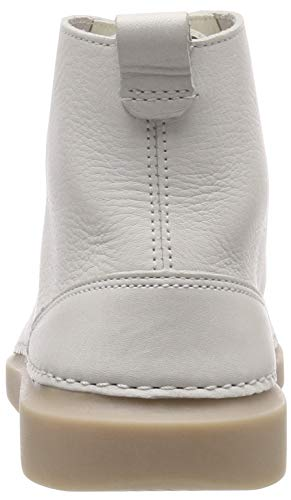 Bianco Rise Donna Alto Clarks A white Hale Sneaker Leather Collo AF0a6
