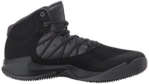 Adidas Heren Bal 365 Geïnspireerd Basketbalschoen Zwart / Nut Zwart / Wit