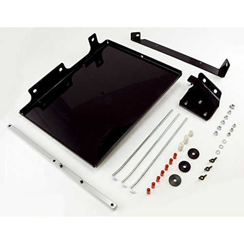Rugged Ridge 11214.51 Black Dual Battery Tray Kit
