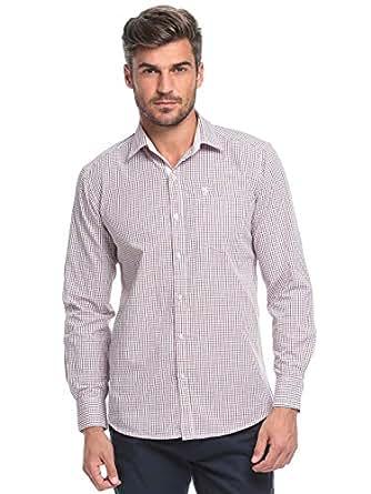 99 White, Blue & green Cotton Shirt Neck Shirts For Men