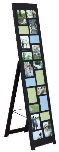 nexxt nisse floor standing collage picture frame 64 by 14 inch holds 10