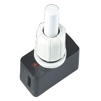 PBS-17A 250V 3A M10 Mini Interruptor de Botón de Encendido ...