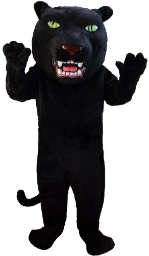 Black Panther Lightweight Mascot Costume]()