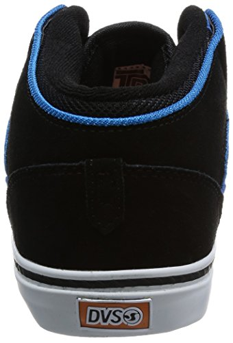Black DVS Men's Suede Skate Blue Shoe Torey IqBzxq6