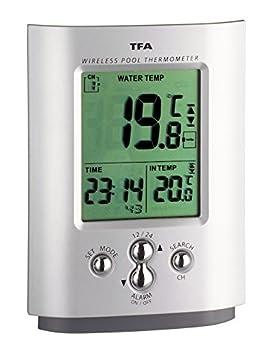 TFA 30.3033 - Termómetro digital de piscina, con sensor remoto