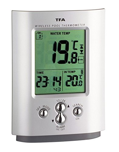 TFA 30.3033 Miami Radio-Controlled Wireless Swimming Pool Thermometer TFA Dostmann GmbH & Co.KG