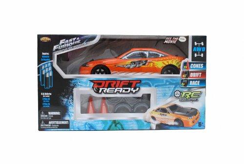 Fast & Furious R/C Drift Ready 1/16 Radio Control Drifting Car (Orange)