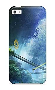 AmandaMichaelFazio Scratch-free Phone Case For Iphone 5c- Retail Packaging - Xenoblade Chronicles Game