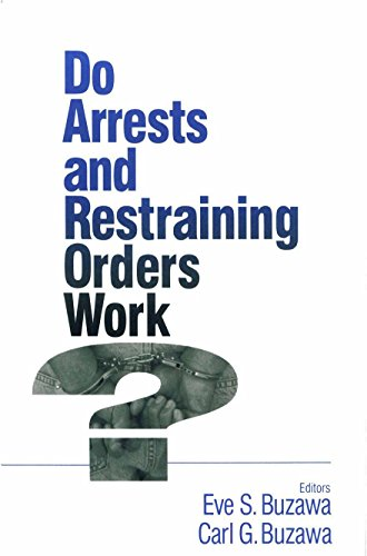 Download Do Arrests and Restraining Orders Work? Pdf