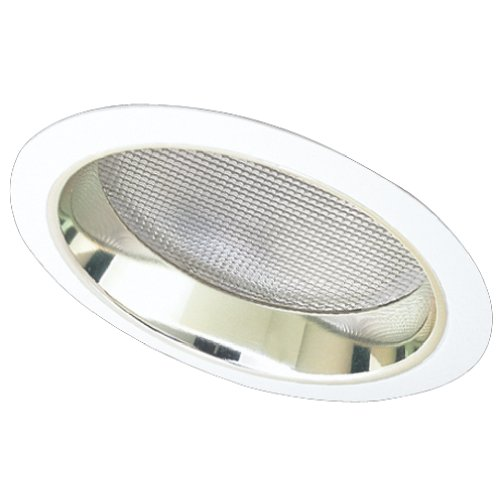 "Elco Lighting EL642G 6"" CFL Sloped Reflector with Regressed Albalite Lens - EL642 (CFL Sloped) ()"