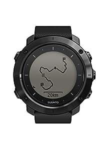 Suunto - Traverse - SS022291000 - Reloj GPS Outdoor para excursionismo y senderismo - Sumergible - Sapphire Black (Negro zafiro) - Talla única