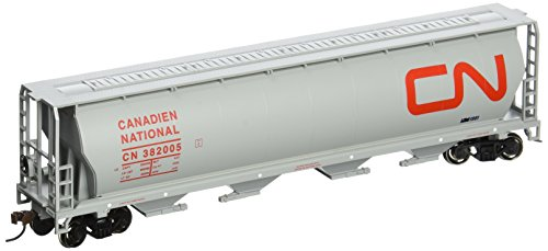Bachmann Trains Canadian National 4 Bay Cylindrical Grain Hopper