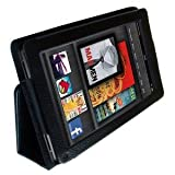 Original I-Boyz Amazon Kindle FIRE Leather Case Cover and Flip Stand Wallet Plus FREE Capacitive Stylus Pen