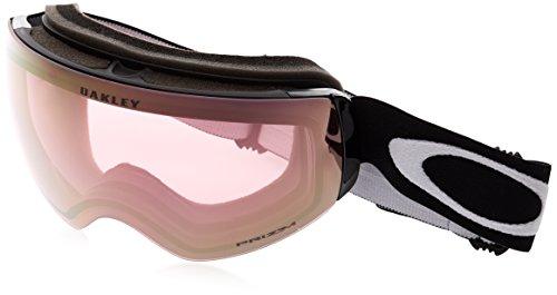 Oakley Flight Deck XM Snow Goggles, Matte Black, Prizm Hi Pink, Medium ()