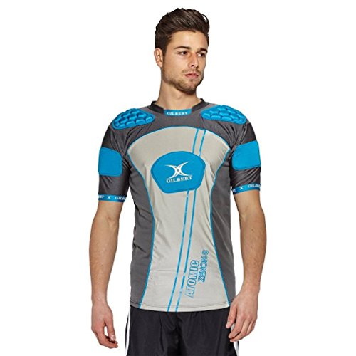 (Gilbert Atomic Zenon Body Armour - Blue (Medium) )