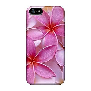 Anti-scratch And Shatterproof Flowers Phone Case For Iphone 5/5s/ High Quality Tpu Case
